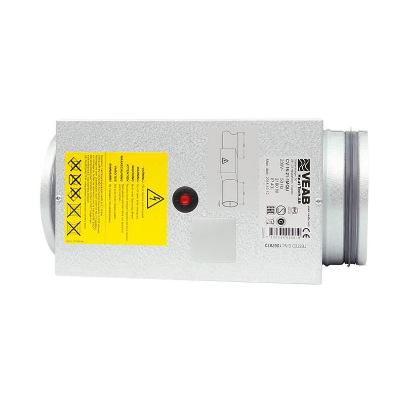 CV MTEM (Kanalheizregister inkl. Regelung für Raum und Kanalfühler, zwei Fühler)